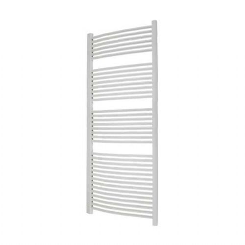 Abacus Elegance Radius Curved Towel Rail - 1700mm x 600mm - White